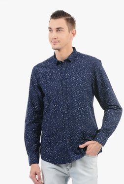 Pepe Jeans Navy Cotton Shirt - Mp000000002230814