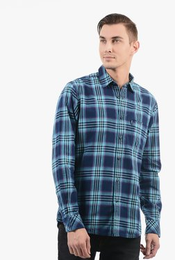 Pepe Jeans Navy Cotton Shirt - Mp000000002231627