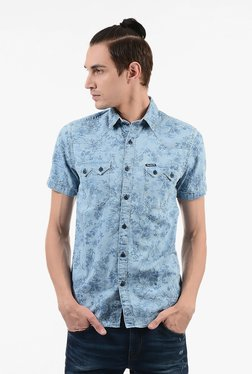 Pepe Jeans Navy Cotton Shirt