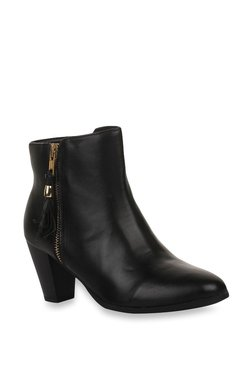 Bruno Manetti Black Casual Booties - Mp000000002238766