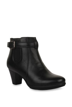 Bruno Manetti Black Casual Booties - Mp000000002238292