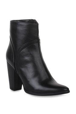 Bruno Manetti Black Casual Booties - Mp000000002238400
