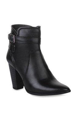 Bruno Manetti Black Casual Booties - Mp000000002238703