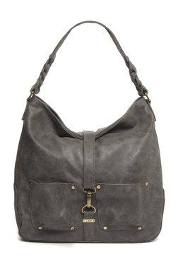 LOV By Westside Grey Hobo Bag