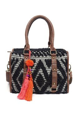 Ay Paisley By Westside Black Satchel