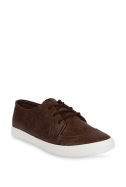 Duke Coffee Brown Brogue Shoes