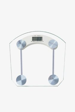 MCP SWS-01 Square Shape Thick Glass Digital Weighing Machine (White)