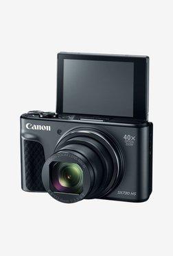 Canon PowerShot SX730 HS Point & Shoot Camera (Black) Memory Card + Camera Case