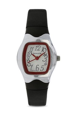 Sonata NJ8989PP08C Analog Watch for Women image