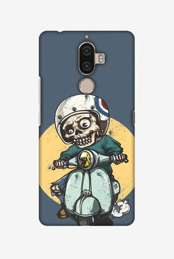 Amzer Love Motorcycles 1 Hard Shell Designer Case For Lenovo K8 Note