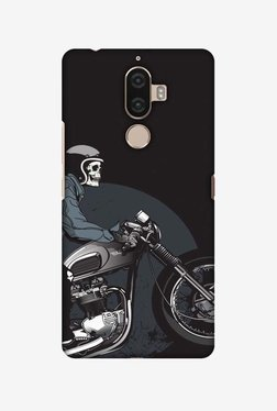 Amzer Love Motorcycles 2 Hard Shell Designer Case For Lenovo K8 Note