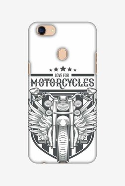 Amzer Love Motorcycles 3 Hard Shell Designer Case For Oppo F5/F5 Youth