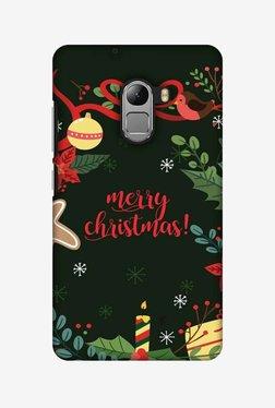 Amzer Christmas Cheer 1 Hard Shell Designer Case For Lenovo A7010/K4 Note