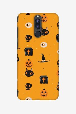 Amzer Spooky Collage Halloween Designer Case For Honor 9i