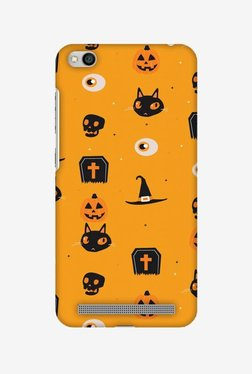 Amzer Spooky Collage Halloween Designer Case For Redmi 5A