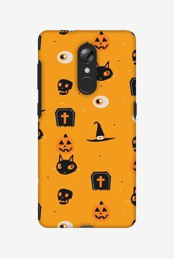 Amzer Spooky Collage Halloween Designer Case For Lenovo K8