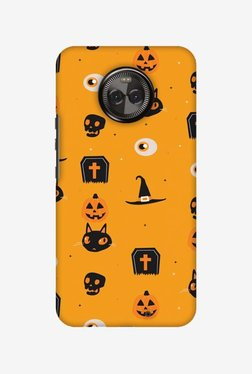 Amzer Spooky Collage Halloween Designer Case For Moto X4