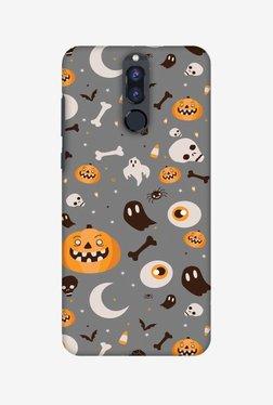 Amzer Freaky Grey Halloween Designer Case For Honor 9i