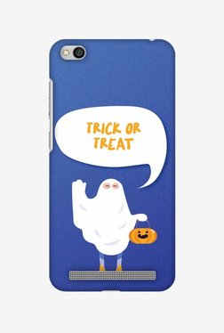 Amzer Trick Or Treat White Ghost Halloween Designer Case For Redmi 5A
