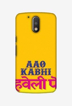Amzer Aao Kabhi Hard Shell Designer Case For Moto G4 Play