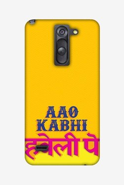 Amzer Aao Kabhi Hard Shell Designer Case For LG G3 Stylus