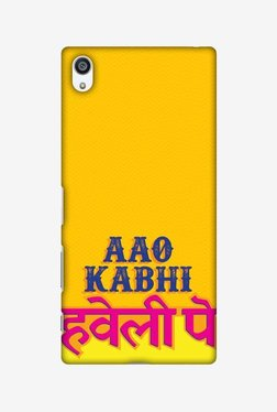 Amzer Aao Kabhi Hard Shell Designer Case For Sony Xperia Z5 Premium