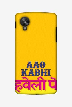 Amzer Aao Kabhi Hard Shell Designer Case For Nexus 5