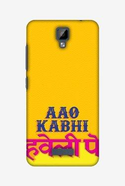 Amzer Aao Kabhi Hard Shell Designer Case For Gionee P7