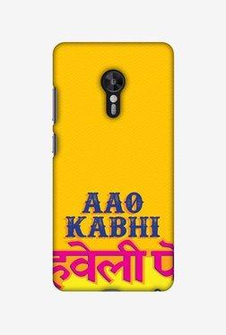 Amzer Aao Kabhi Hard Shell Designer Case For Lenovo ZUK Z2 Pro