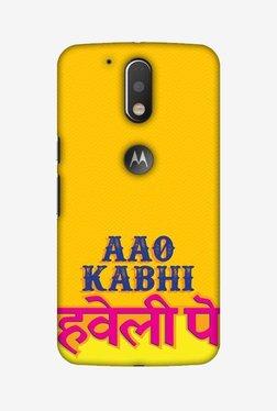 Amzer Aao Kabhi Hard Shell Designer Case For Moto G4/G4 Plus