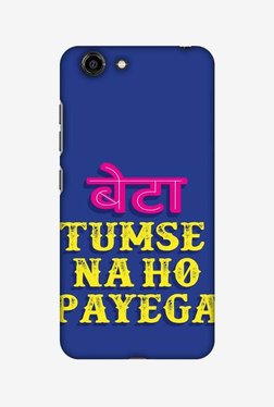 Amzer Tumse Naa Ho Payega Hard Shell Designer Case For Gionee S10C