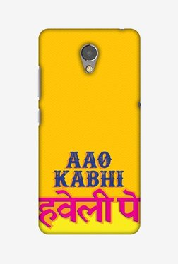 Amzer Aao Kabhi Hard Shell Designer Case For Lenovo P2