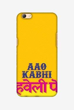 Amzer Aao Kabhi Hard Shell Designer Case For Oppo R9s