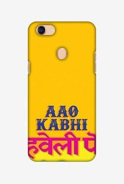 Amzer Aao Kabhi Hard Shell Designer Case For Oppo F5/F5 Youth