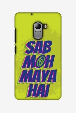 Amzer Sab Moh Maya Hai Hard Shell Designer Case For Lenovo A7010/K4 Note
