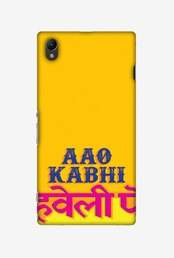 Amzer Aao Kabhi Hard Shell Designer Case For Sony Xperia Z1 L39h