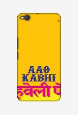 Amzer Aao Kabhi Hard Shell Designer Case For HTC One X9