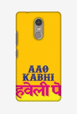 Amzer Aao Kabhi Hard Shell Designer Case For Lenovo K6 Note