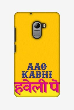 Amzer Aao Kabhi Hard Shell Designer Case For Lenovo A7010/K4 Note