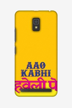 Amzer Aao Kabhi Hard Shell Designer Case For Lenovo A6600/A6600 Plus