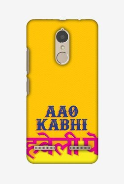 Amzer Aao Kabhi Hard Shell Designer Case For Lenovo K6/K6 Power