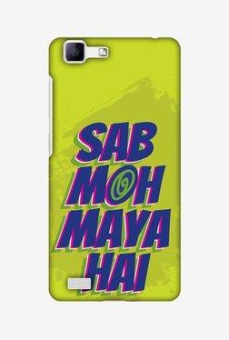Amzer Sab Moh Maya Hai Hard Shell Designer Case For Vivo V1/Y35