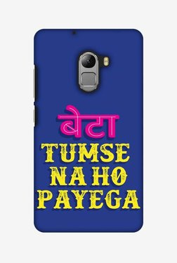 Amzer Tumse Naa Ho Payega Hard Shell Designer Case For Lenovo A7010/K4 Note