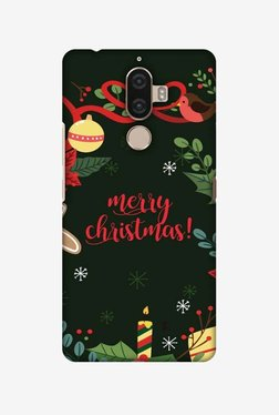 Amzer Christmas Cheer 1 Hard Shell Designer Case For Lenovo K8 Note