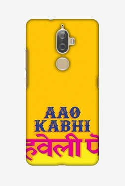 Amzer Aao Kabhi Hard Shell Designer Case For Lenovo K8 Plus