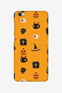 Amzer Spooky Collage Halloween Designer Case For Vivo Y55