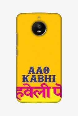 Amzer Aao Kabhi Hard Shell Designer Case For Moto E4 Plus