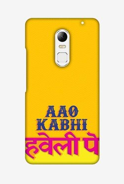 Amzer Aao Kabhi Hard Shell Designer Case For Lenovo Vibe X3