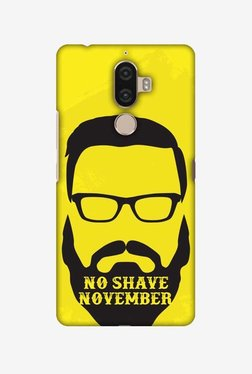 Amzer No Shave November Hard Shell Designer Case For Lenovo K8 Note