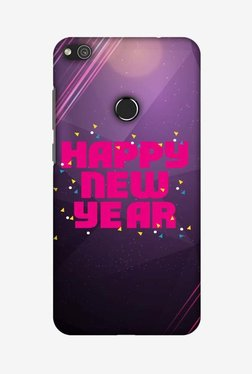 Amzer Happy New Year Hard Shell Designer Case For Huawei P8 Lite